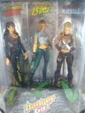 """DANGER GIRL 6 1/2"""" Ultra Action Figure SET OF 3 In Sealed Box Curves Ahead SPAWN"""