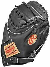 """New Rawlings 2007 Gold Glove Pro Taper Catchers Mitt 32"""" Baseball RHT Black"""