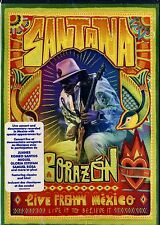 BRAND NEW CONCERT DVD // SANTANA // CORAZON // LIVE FROM MEXICO // 23 TRACKS