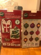 Wilton Holiday Candy Molds