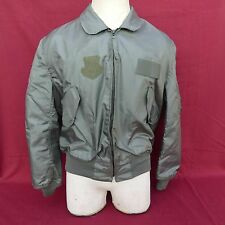 USAF CWU-36/P NOMEX FLIGHT JACKET X LARGE ARAMID  Sage Green MINT