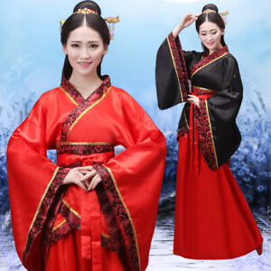 Oriental Chinese Traditional Dress Women Hanfu Performance Costume Adult Fairy
