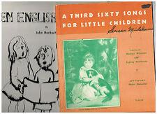 A Third Sixty Songs for Little Children, Herbert Wiseman + Ten English Rhymes