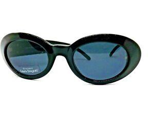 LAURA BIAGIOTTI Sunglasses Retro Vintage Woman Ages 90 Blue Oval Retro Italy
