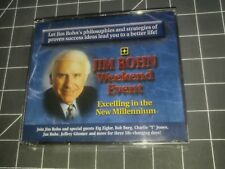 Brand new sealed JIM ROHN Weekend Event Volume vol.2 Two 5-8 DVD Set excelling