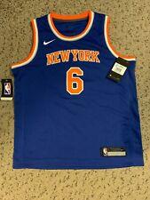 Nike Jersey Kids Sz Large Youth #6 - New York Knicks - Kristaps Porzingis