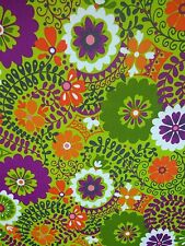 """RICHLOOM LUXURY CITRON ABSTRACT FLORAL OUTDOOR INDOOR FABRIC BY THE YARD 54"""" W"""
