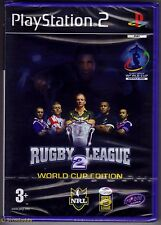 RUGBY LEAGUE 2 WORLD CUP EDITION PS2