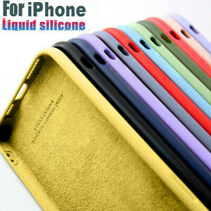 Shockproof Silicone Case For iPhone 11 12 Pro Max XS XR 8 7 6 SE 2nd Phone Cover