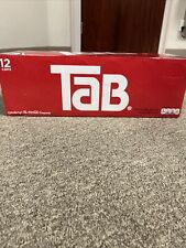 Tab Cola 12-Pack TAB Soda Soft Drinks Unopened Discontinued