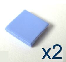 2x Pad thermique silicone 10x10x2mm pour GPU / Chipset Thermal Conductive Pad