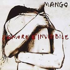 MANGO - L'AMORE E' INVISIBILE  CD POP-ROCK ITALIANA