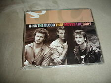 A-Ha The Blood That Moves The Body CD Single 3 Tracks UPC 093624040026