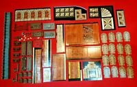 Heroquest Full Set of Furniture Tiles Doors & Bases All New & Unpunched