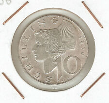 Austria: 10 Schilling 1970 XF
