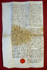 1777 RAVENSBURG  - Justin Heinrich HILLERN - eigh. Urkunde - WIELAND-UMKREIS
