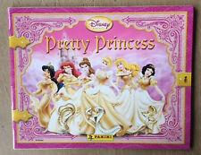 Album  PANINI  PRETTY PRINCESS  Disney  2008  avec son poster
