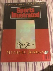 Michael Jordan Signed Sports Illustrated SOY Magazine  1991