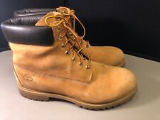Men's Timberland Work Boots Size 15 Tan Leather