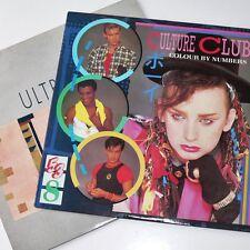 CULTURE CLUB / ULTRAVOX - COLOUR BY NUMBERS & QUARTET 2 x 80s LP