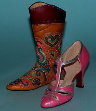 """Just the Right Shoe, Raine, """"Stepping Out in Georgetown"""" 2 pc, boxed set, Nib"""