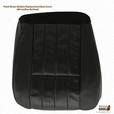 2006 Ford F-250 F-350 Harley Davidson Driver Bottom Leather Seat Cover Black