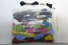 28 New Skeins 100% DMC Embroidery Floss Thread for Needlework Crafting