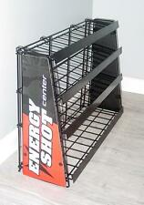 New Commercial Energy Shot 4 Shelf Metal Counter Display 5 Hour Rack  Last Ones!