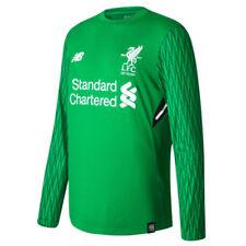 Camiseta de fútbol de manga larga en verde
