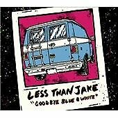 LESS THAN JAKE GOODBYE BLUE & WHITE CD + DVD OF RARE LIVE VIDEO FROM 1994-2007