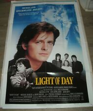 1987 LIGHT of DAY 1 SHEET MOVIE POSTER MICHAEL J FOX JOAN JETT TEEN BAND FILM