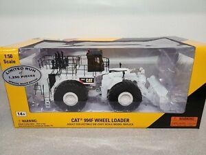 Caterpillar Cat 994F Wheel Loader - White - Norscot 1:50 Scale Model #55244