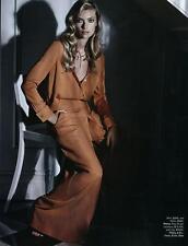 New WILLOW Teracotta Orange White Polka Dot Silk Crepe Blouse Shirt AU6 $395