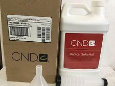 CND Radical Solar Nail Sculping Liquid 1 Gallon / 3785 mL Superior Durability