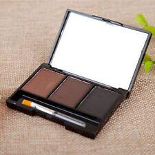 Makeup Cosmetic Kit EYEBROW Powder/Shadow Palette Enhancer w/brush