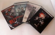 Blade DVD Set, 4 Movies: Wesley Snipes, Rated R