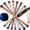 Flames N Games TWISTER Pro Devil Stick Set -  Silicone WOODEN Handsticks + Bag