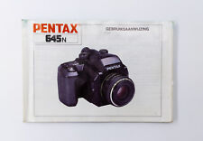 Pentax 645N handleiding / user guide / operating manual [NL Dutch]