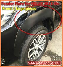 OEM FENDER FLARES WHEEL ARCHES for TOYOTA HILUX M70 M80 N80 2015-18 Front 2L pie