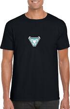 Avengers IronMan Endgame T Shirt Cosplay Superhero Arc Reactor Gifts Kid Adult