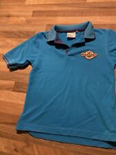 Scouts Beavers Turquoise Blue Polo Shirt T Shirt Top Size 26 (Age 7-8)