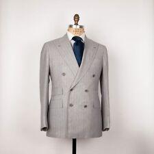 NWT Orazio Luciano Super 180's Wool Suit 40/50 Kiton La Vera Sartoria Napoletana