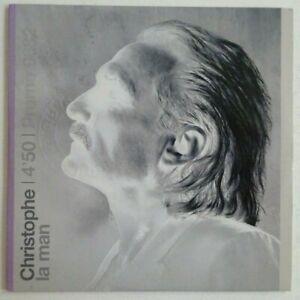 hommage au chanteur CHRISTOPHE BEVILACQUA : : LA MAN ♦ CD SINGLE PROMO ♦