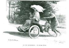 Publicité Ancienne La Vie Automobile  Les Grands Dossiers de L'Illustration