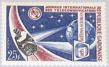 GABON GABUN 1970 359 257 Intl. Telecommunications Day ITU Weltfernmeldetag MNH