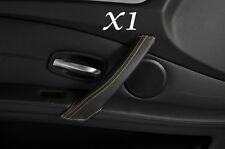 BEIGE STITCH FITS BMW E60 E61 07-11 FACELIFT 1X PASSENGER DOOR HANDLE COVER