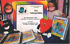 Puppet Bible International VBS Kit-4 Puppets&5 Lessons--Missions-7 languages