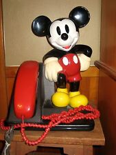 Mickey Mouse 1990 AT & T Push Button Telephone