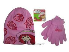 LOT Bonnet + gants CHARLOTTE AUX FRAISES Taille 3 4 5 6 ans !!! Enfant fille ...