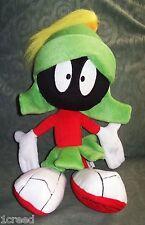 "Looney Tunes Marvin the Martian Plush Stuffed Play Toy Vintage 15"" Cartoon"